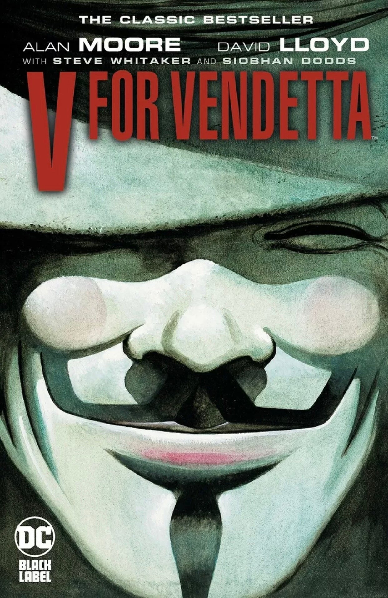 🚨💥 V FOR VENDETTA BLACK LABEL EDITION TPB DC Brand New 12/15/2020 Release