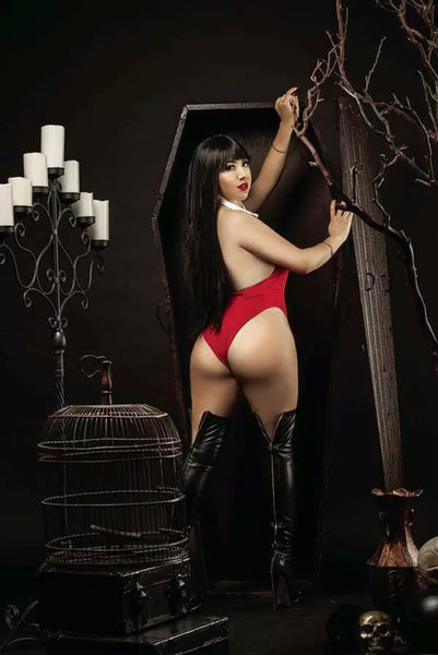 VAMPIRELLA #17 RAMIREZ COSPLAY Variant Set Of 2 Cover E & 1:25 Virgin