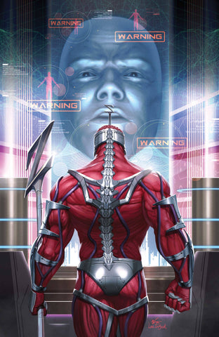 🚨🔥 MIGHTY MORPHIN #7 INHYUK LEE 1:10 Virgin Ratio Variant Lord Zedd NM Gemini