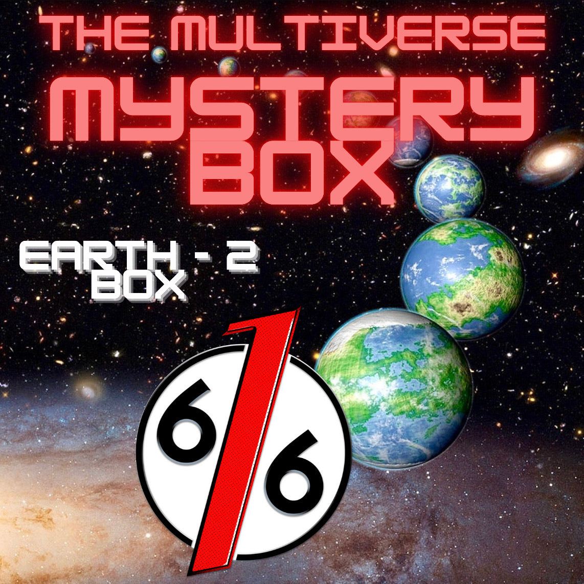 MULTIVERSE MYSTERY BOX - EARTH 2 BOX - 4 Exclusive Variants!