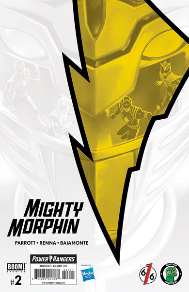 MIGHTY MORPHIN #2 DIEGO GALINDO Exclusive Virgin Variant Ltd 500