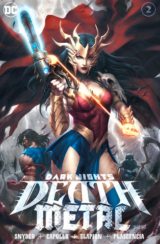 DARK NIGHTS DEATH METAL #2 KENDRICK KUNKKA LIM Exclusive Cover A Ltd 3000