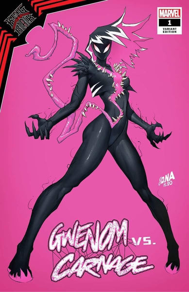 KING IN BLACK GWENOM VS CARNAGE #1 SET OF 3 NAKAYAMA Variants