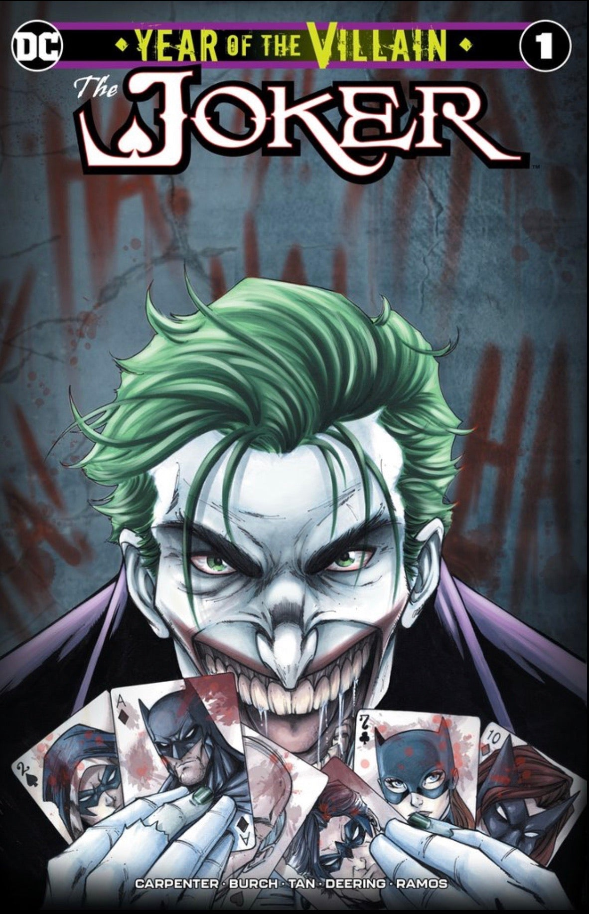 JOKER YEAR OF THE VILLAIN #1 RYAN KINCAID Cover A Ltd To 3000