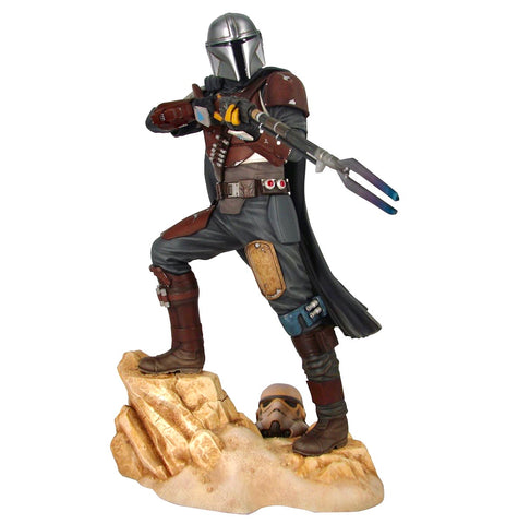 STAR WARS PREMIER COLLECTION THE MANDALORIAN MK1 Statue Ltd To 3000