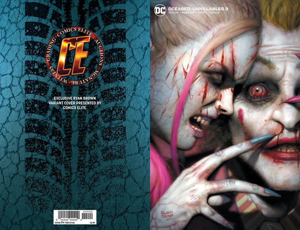 DCEASED UNKILLABLES #3 RYAN BROWN Bundle B Includes 2 Bonus Books
