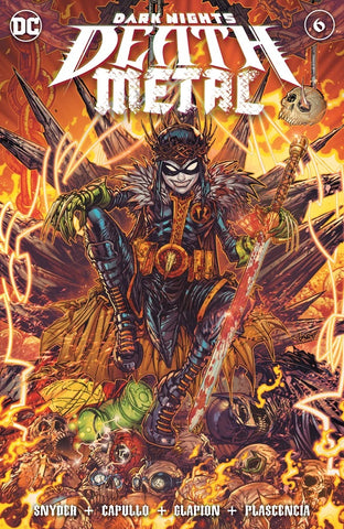 🚨💀🔥 DARK NIGHTS DEATH METAL #6 JONBOY MEYERS Trade Dress Variant LTD 3000