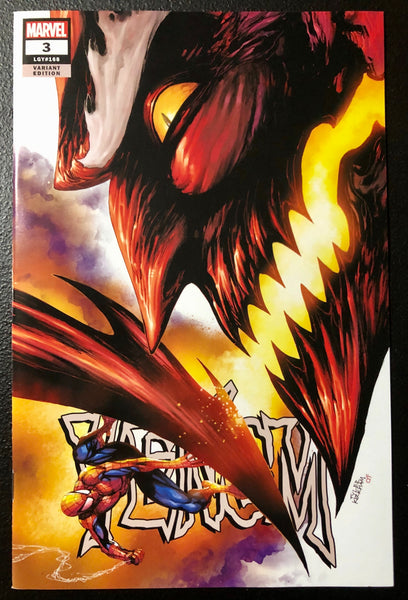 VENOM #3 TYLER KIRKHAM Exclusive Red Goblin Trade Dress