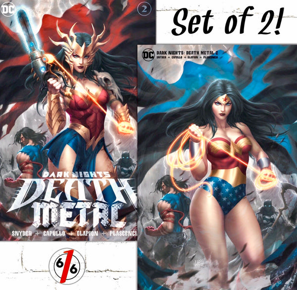 Dark Nights Death Metal 2 Kendrick Kunkka Lim Variant Set
