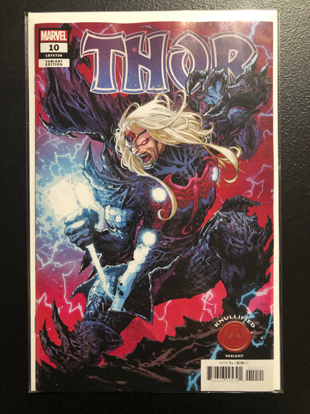 THOR #10 Lashley Knullified Variant King In Black