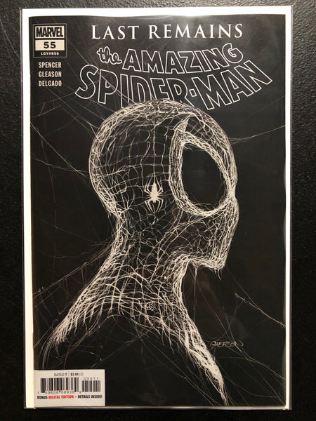 AMAZING SPIDER-MAN #55 Gleason Black Cover
