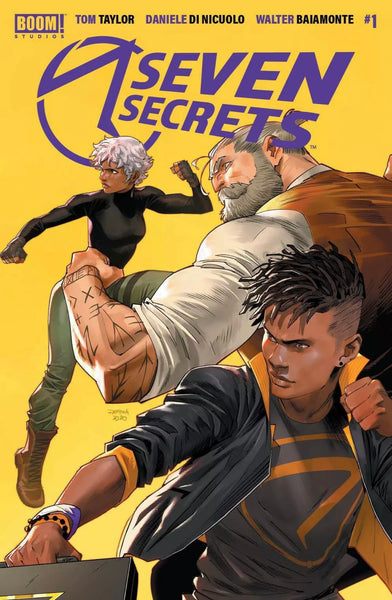 SEVEN SECRETS #1 SECOND PRINT MEGA BUNDLE SET OF 3 Exclusive Cover B Virgin Variants Ltd 100 Ultimate Fallout #4 Homage