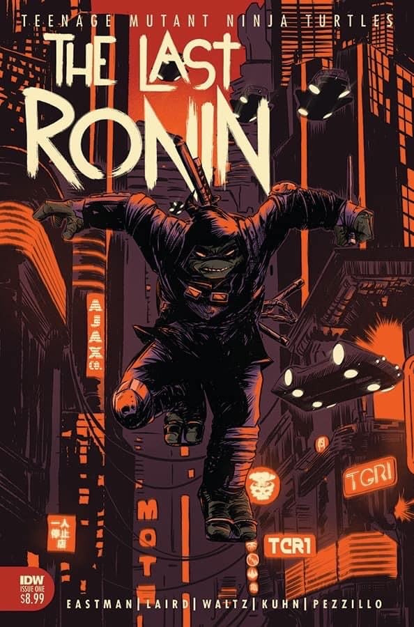 TMNT THE LAST RONIN #1 JOSEPH SCHMALKE Exclusive Ltd 500