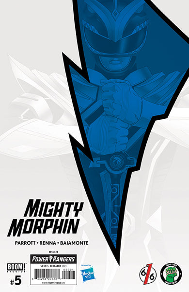 MIGHTY MORPHIN #5 BON BERNARDO Exclusive Variant LTD 1000