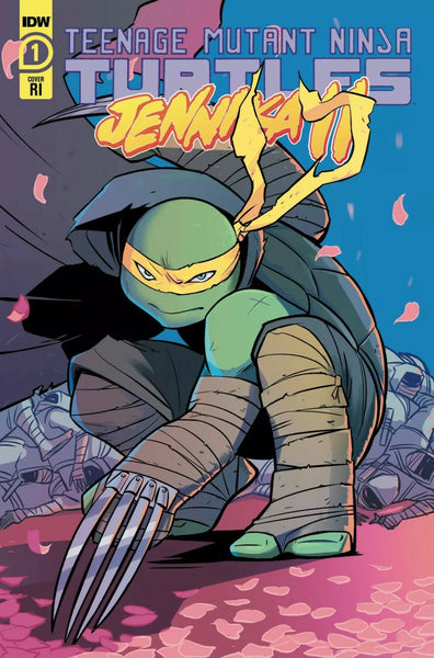 TMNT JENNIKA II #1 SET OF 2 Justine Frany Exclusive & Bustos 1:10 Ratio Variant