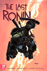 TMNT THE LAST RONIN #1 KEVIN EASTMAN 1:10 Ratio Variant PRE-SALE