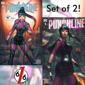 PUNCHLINE #1 DAVID NAKAYAMA & EJIKURE SET OF 2 Trade Dress Variants