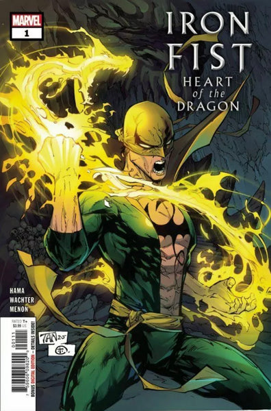 IRON FIST HEART OF THE DRAGON #1 SET OF 2 Main Cover + Aja Variant