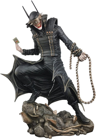 DC GALLERY BATMAN WHO LAUGHS STATUE Dark Nights Metal 9 Inch
