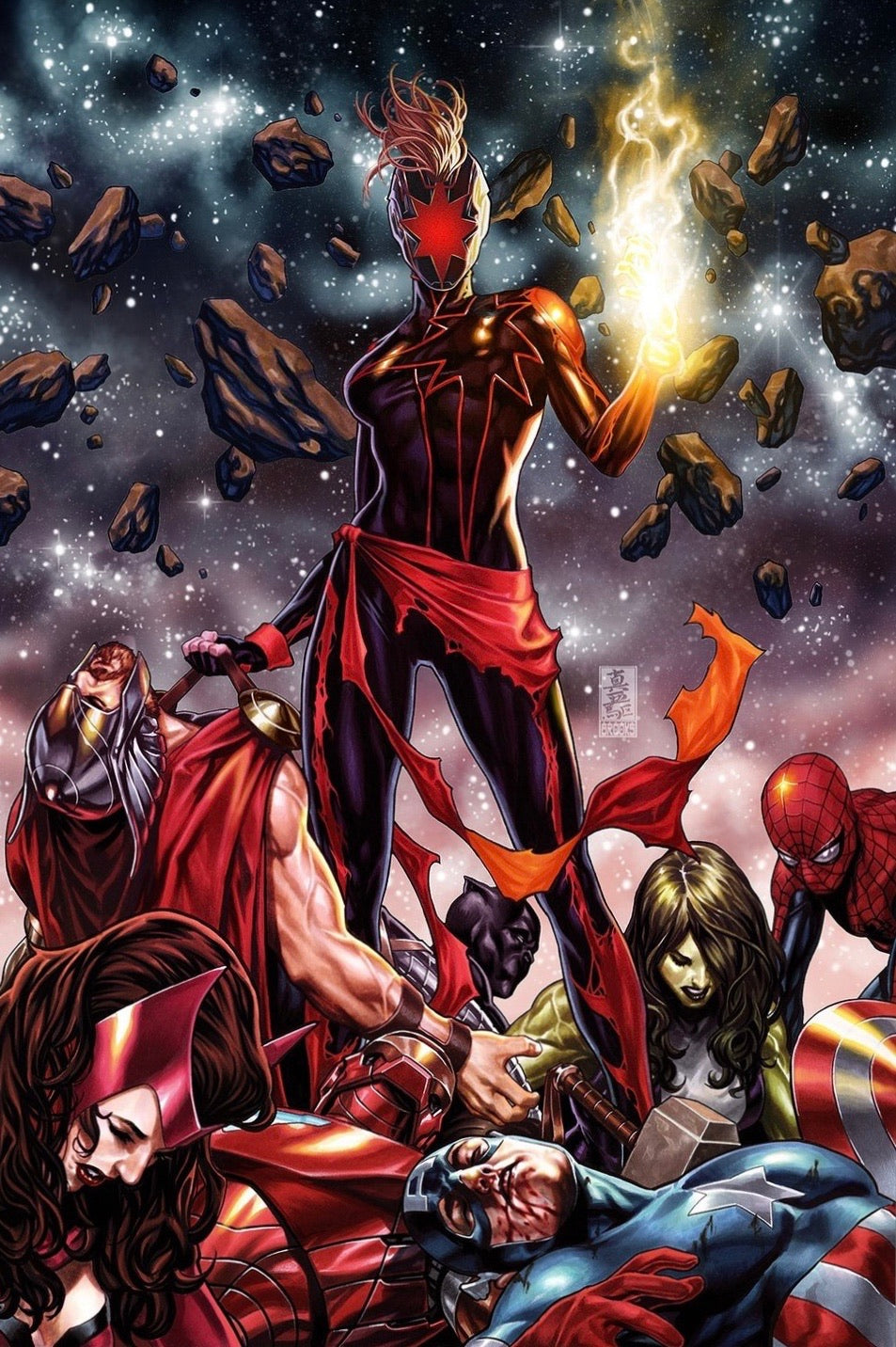 CAPTAIN MARVEL #12 MARK BROOKS VIRGIN Limited Exclusive Variant