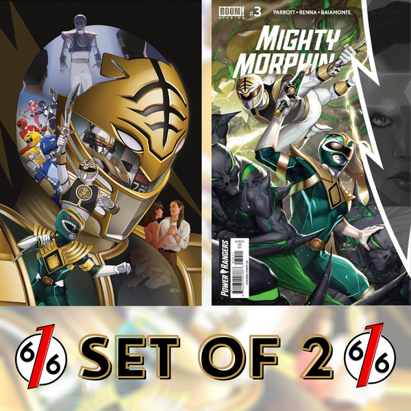 MIGHTY MORPHIN #3 SET OF 2 Bon Bernardo Exclusive + InHyuk Lee Main