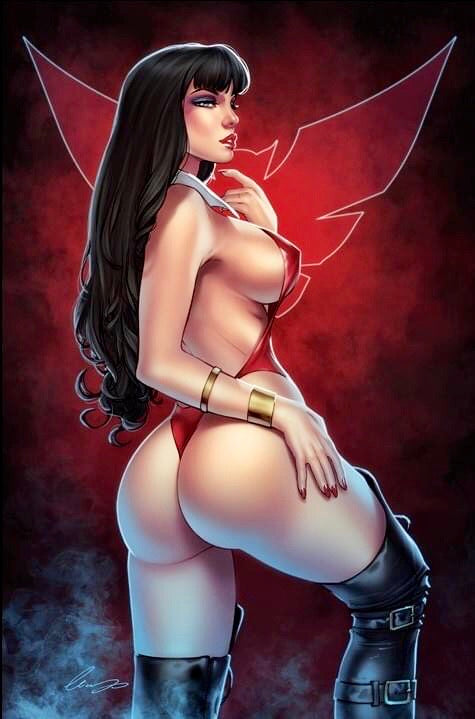 VAMPIRELLA #13 ELIAS CHATZOUDIS Exclusive Virgin Variant Cover A Ltd 500