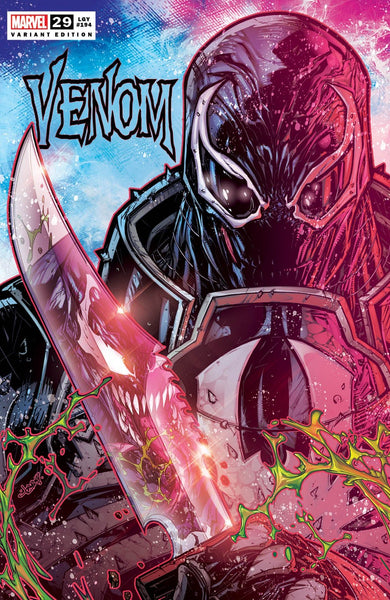 VENOM #29 JONBOY MEYERS SET OF 2 Trade & Virgin Variants