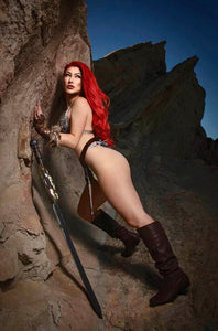 🚨🔥🗡 RED SONJA #27 COSPLAY 1:11 Ratio Variant NM Gemini Shipping