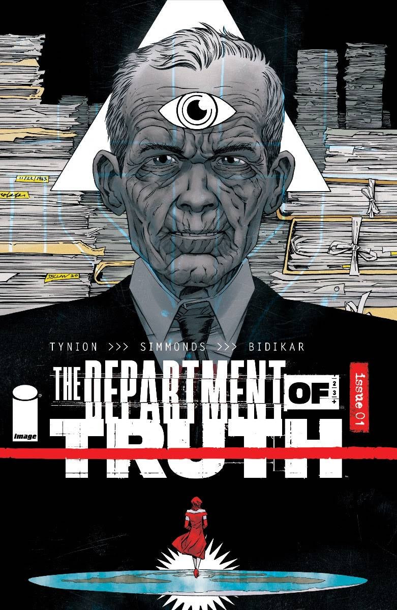 DEPARTMENT OF TRUTH #1 DECLAN SHALVEY 1:10 Ratio Incentive Variant
