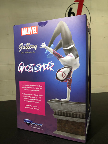 "MARVEL GALLERY HANDSTAND SPIDER-GWEN PVC Statue 11"" Factory Sealed"