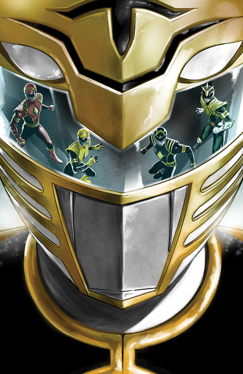 MIGHTY MORPHIN #1 DIEGO GALINDO Exclusive Virgin Variant Ltd 500
