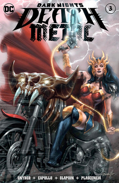 DARK NIGHTS DEATH METAL #3 LUCIO PARRILLO Exclusive Variant Set of 2