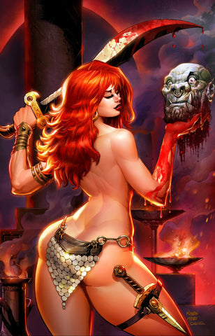RED SONJA THE PRICE OF BLOOD #1 MATT DALTON Virgin Variant Ltd 500 COA