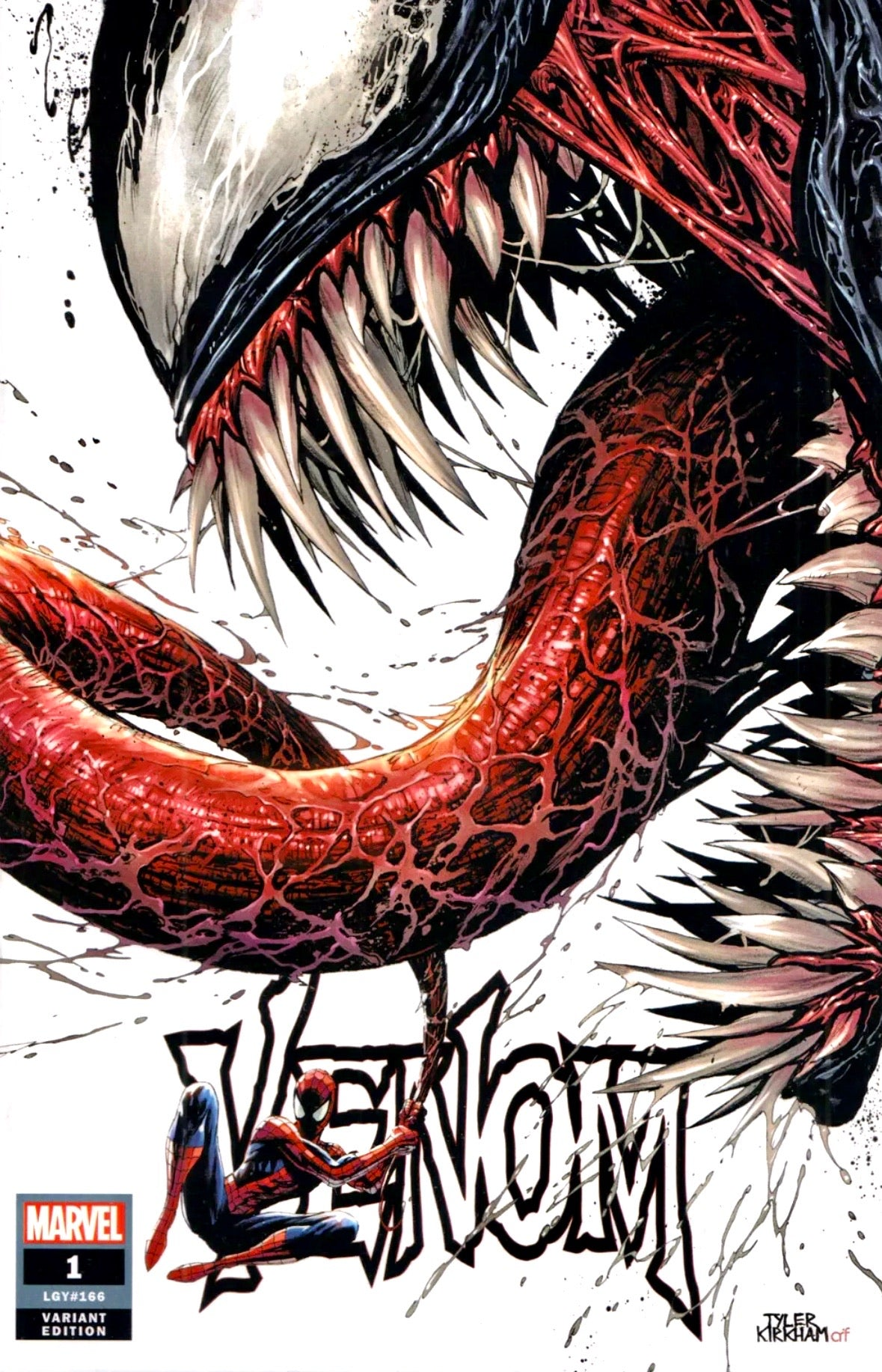VENOM #1 TYLER KIRKHAM Exclusive Trade Dress Variant