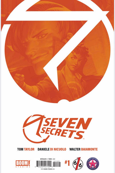 SEVEN SECRETS #1 JUNGGEUN YOON Exclusive Virgin Variant Ltd to 500