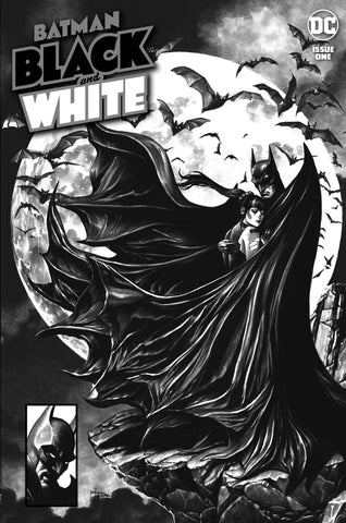 BATMAN BLACK & WHITE #1 MICO SUAYAN Trade Dress Variant Batman #423 McFarlane Homage