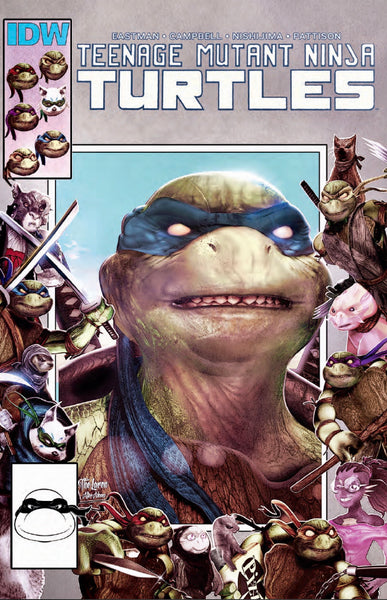 TMNT #111 SET OF 2 HAL LAREN Marvel 25th Homage Variant + 1:10 Lubera