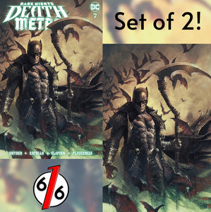 🚨💀🔥 DARK NIGHTS DEATH METAL #7 MARCO MASTRAZZO SET OF 2 Batman Variant NM