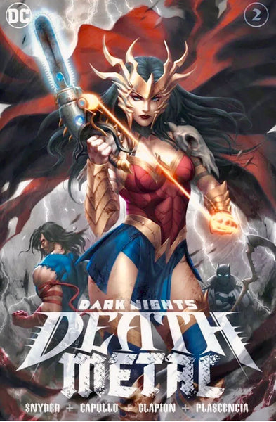 DARK NIGHTS DEATH METAL #1 & #2 EXCLUSIVE Set Of 2 Ltd To 3000