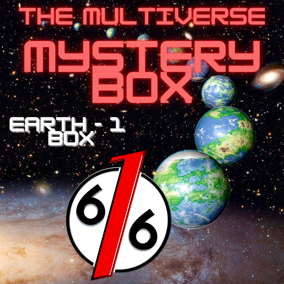 MULTIVERSE MYSTERY BOX - EARTH 1 BOX - 4 Exclusive Variants Comics Comic Books