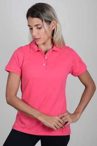 Polo Mujer Salmon