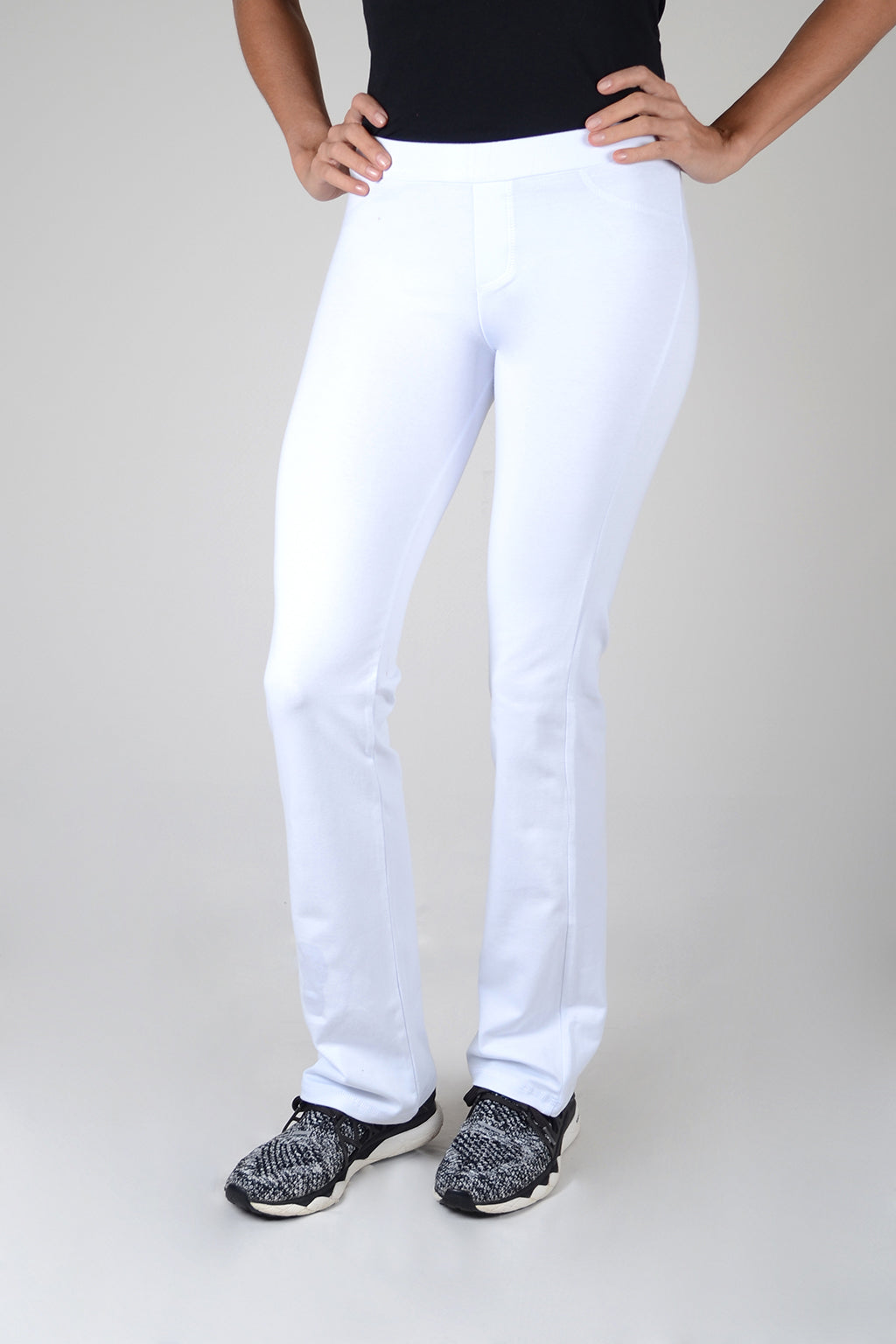 Leggings Bota Ancha Blanco