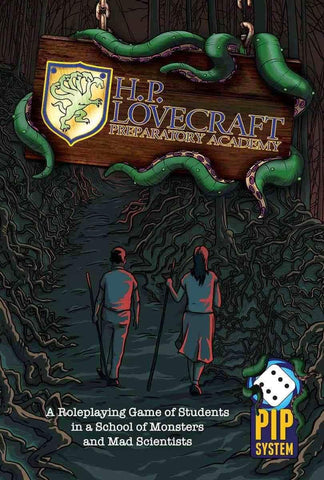 H.P. Lovecraft Preparatory Academy RPG (Hardcover)