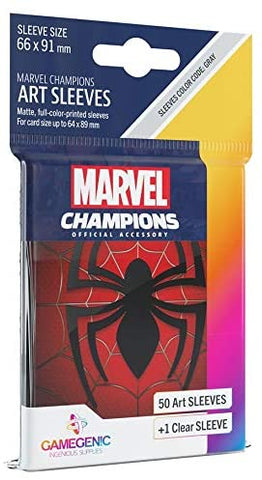 Marvel Champions Art Sleeves: Spider-Man