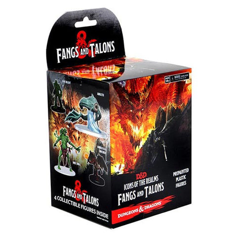 Dungeons & Dragons Icons of the Realms Miniatures: Fangs & Talons Booster