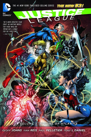 Justice League VOL 03 Throne o