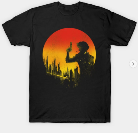 T-Shirt: Cowboy Bebop - Bang! - Black