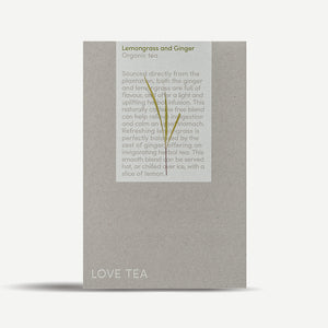 Load image into Gallery viewer, Lemongrass & Ginger Pyramid Tea Bags - You Brewtea