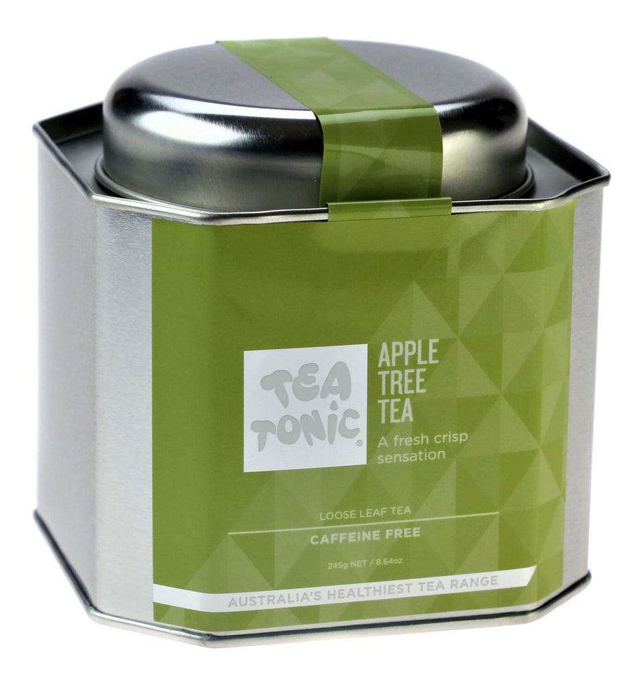 Apple Tree Tea Loose Leaf Caddy Tin - You Brewtea