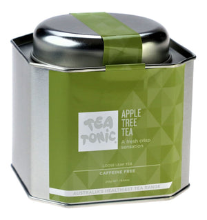 Load image into Gallery viewer, Apple Tree Tea Loose Leaf Caddy Tin - You Brewtea